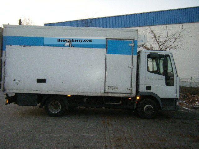 Iveco 75e 2000 Refrigerator Box Truck Photo And Specs