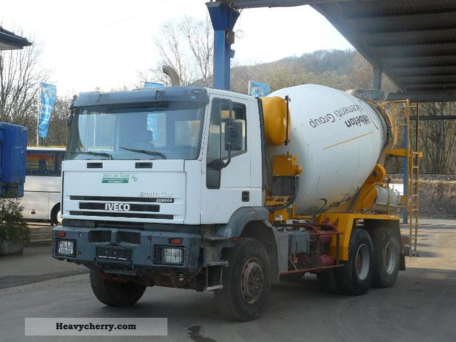 Iveco 260 EH 350 / 6X4-Schwing Stetter 7m ³ 2005 Cement