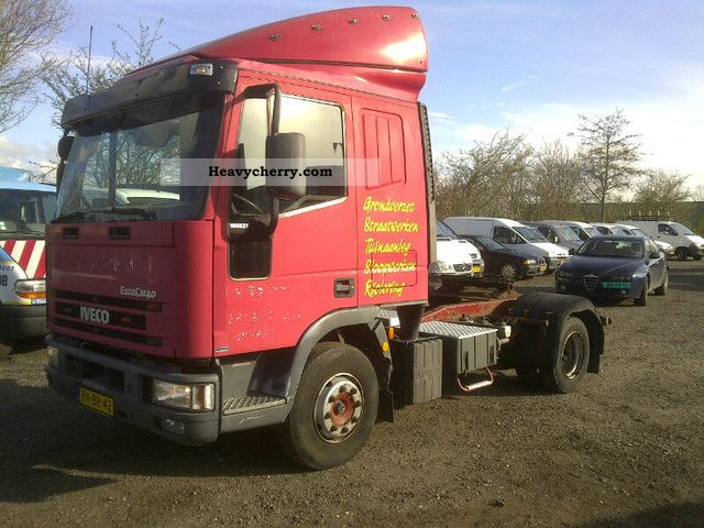 2000 Iveco  EUROCARGO ML180E21T / P + AIR, NET € 5.750, = Semi-trailer truck Standard tractor/trailer unit photo