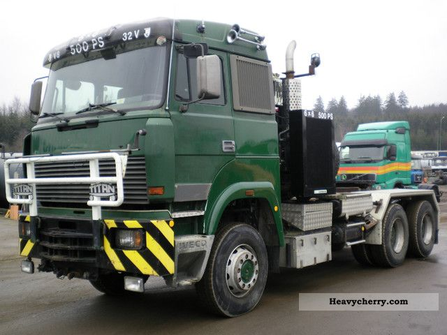 1989 Iveco  6X6 HEAVY DUTY Semi-trailer truck Heavy load photo