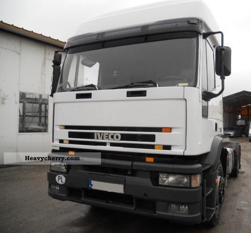 1998 Iveco  Eurotech 440E38 1998 Semi-trailer truck Standard tractor/trailer unit photo
