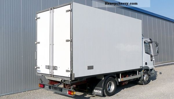 Iveco 75e17 Tector Frozen Meat Case With Railways 2003