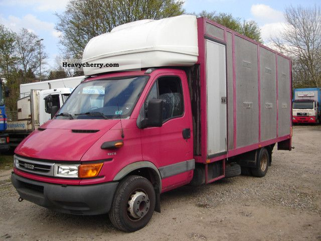 2003 Iveco  65C15 horsebox Van or truck up to 7.5t Cattle truck photo