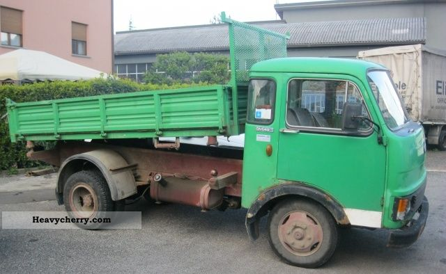 1983 Iveco  TRUCK / TRUCKS om 40 ribaltabile Van or truck up to 7.5t Other vans/trucks up to 7 photo
