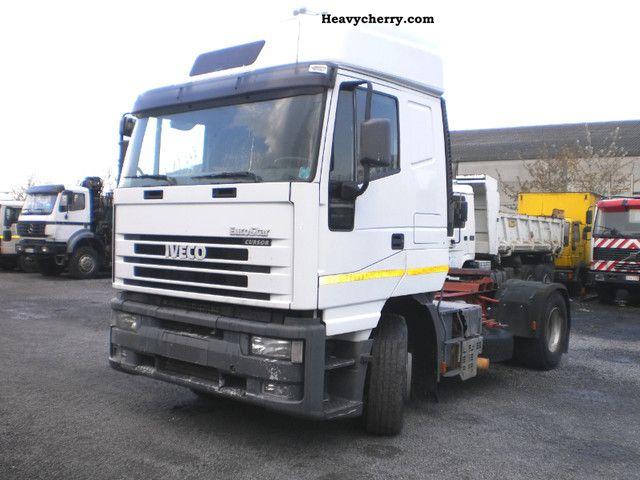 2001 Iveco  Euro Star 440E43 CURSOR Semi-trailer truck Standard tractor/trailer unit photo
