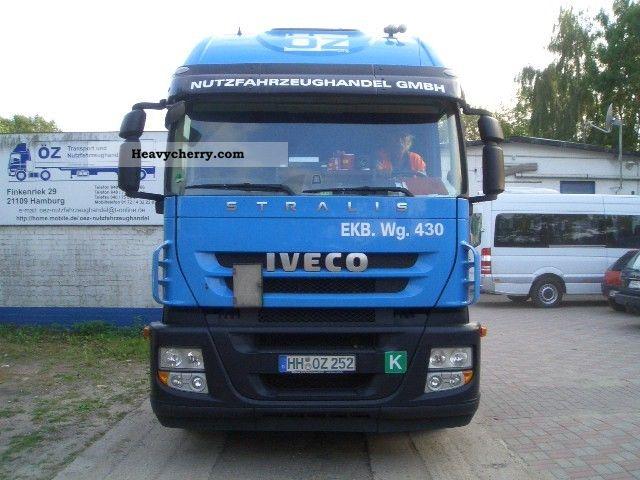 2008 Iveco  Magirus Semi-trailer truck Standard tractor/trailer unit photo