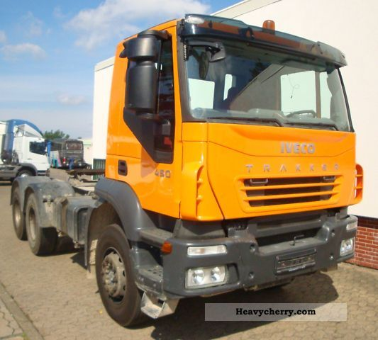 2007 Iveco  Trakker AD260T450/6x4 EURO4, Retarder, Manual Semi-trailer truck Heavy load photo