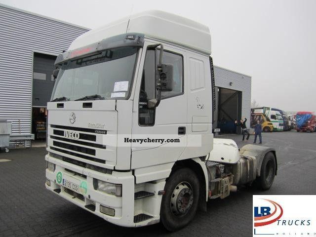 2000 Iveco  LD 440 E 43 TP € Star Cursor Semi-trailer truck Standard tractor/trailer unit photo