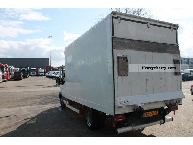 iveco daily 35c15 airco 2007 box truck photo and specs. Black Bedroom Furniture Sets. Home Design Ideas