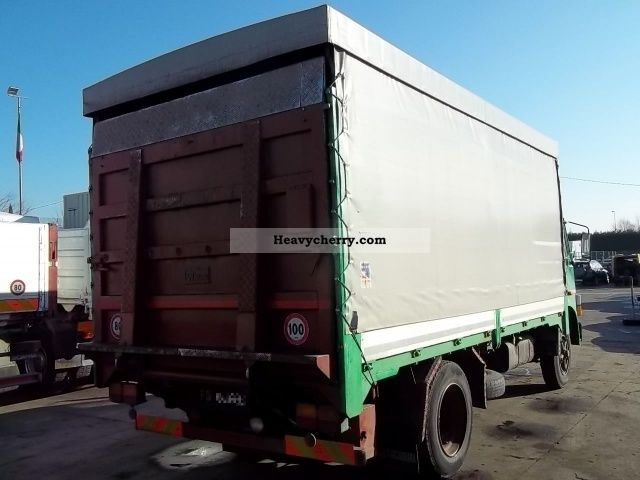 1982 Iveco  FIAT 115 110NC Truck over 7.5t Stake body and tarpaulin photo