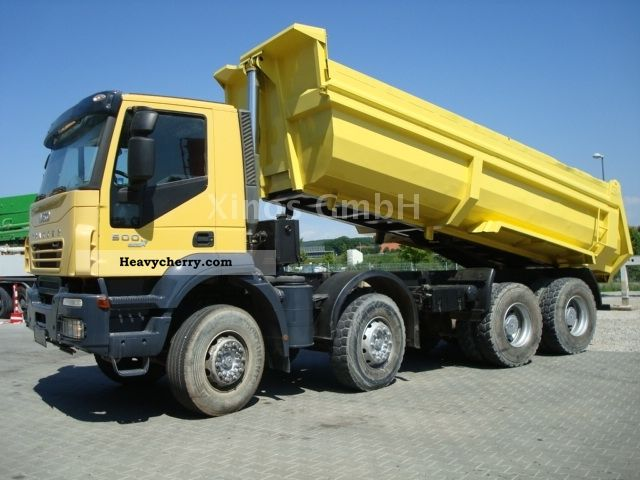 2008 Iveco  Manuel 410T50 8x4 Steel - TOP CONIDITION Truck over 7.5t Tipper photo