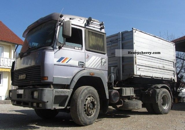 1990 Iveco  190-36 agricult. Zugmasch. (Tax exempt) m. Tipper Truck over 7.5t Tipper photo
