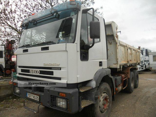 2001 Iveco  EUROTRAKKER CURSOR Truck over 7.5t Tipper photo
