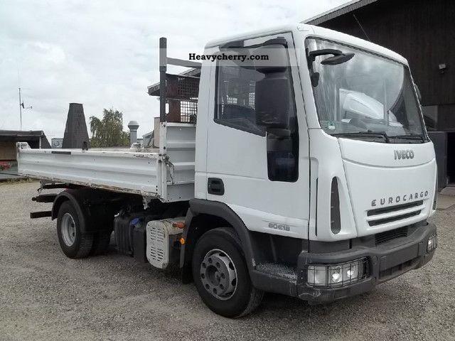 2007 Iveco  ML80 E18 EURO 4, 2 x APC + terminals. Truck over 7.5t Tipper photo