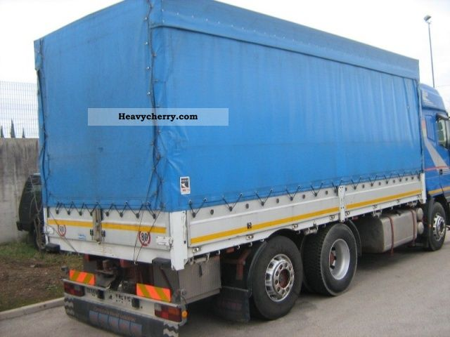 1995 Iveco EUROSTAR 520 Truck over 7.5t Stake body and tarpaulin photo
