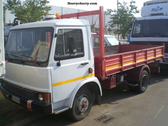 1983 Iveco  65.10 Van or truck up to 7.5t Three-sided Tipper photo