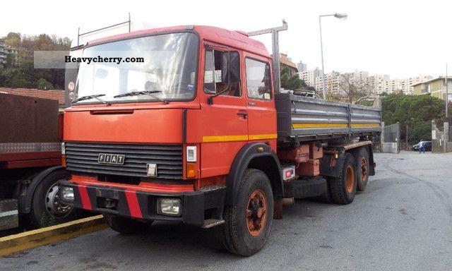 1983 Iveco  190.38 6x2 tipper 3 axels Truck over 7.5t Tipper photo