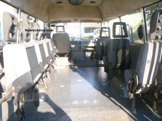 iveco disabled transport daily 9 seats 1994 clubbus photo and specs. Black Bedroom Furniture Sets. Home Design Ideas