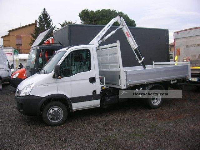 iveco daily 35c15 2011 roll off tipper truck photo and specs. Black Bedroom Furniture Sets. Home Design Ideas