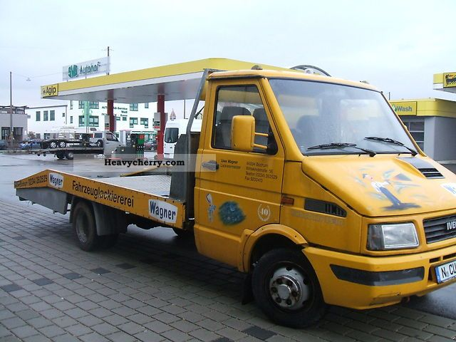 iveco 35 10 1990 breakdown truck photo and specs. Black Bedroom Furniture Sets. Home Design Ideas