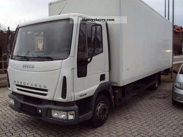 2006 Iveco  € cargo 80E18 Van or truck up to 7.5t Box photo