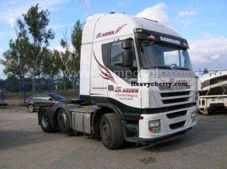 2007 Iveco  Stralis 450 6x2 Euro 5! Semi-trailer truck Heavy load photo