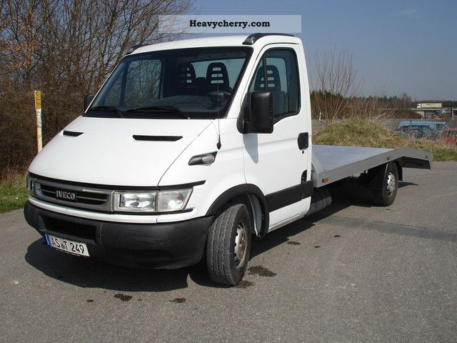 Iveco Daily Car Transporter 2005 Car Carrier Truck Photo And