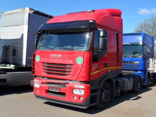 2007 Iveco  Stralis 500 Semi-trailer truck Standard tractor/trailer unit photo