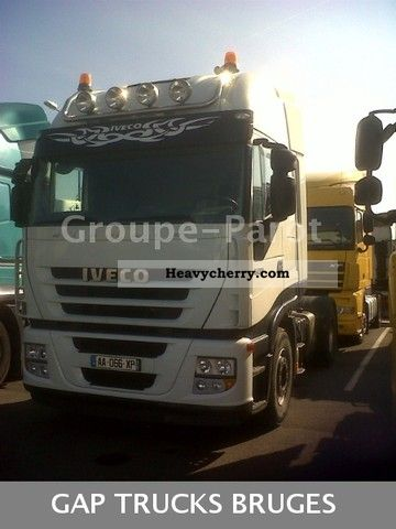 2009 Iveco  AS440 500 Semi-trailer truck Standard tractor/trailer unit photo