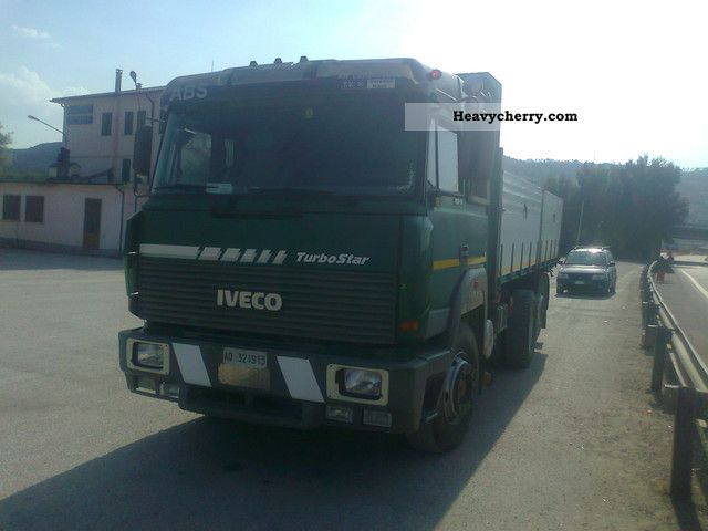 1983 Iveco  190-38 turbo star Truck over 7.5t Three-sided Tipper photo