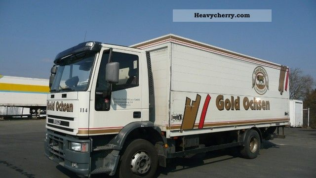 2000 Iveco  ML 150 E 27 full air LBW AHK Truck over 7.5t Beverage photo