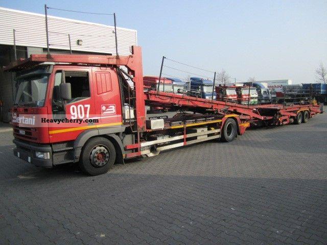 Iveco 190 E 40 71 Car Transporter 2002 Car Carrier Truck