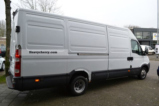 iveco daily 35c15 3 0 hpi maxi air 10950 net 2008 box type delivery van high and long. Black Bedroom Furniture Sets. Home Design Ideas