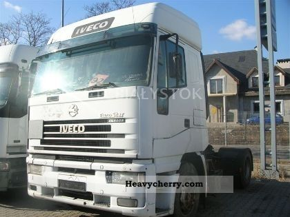 2002 Iveco  MAGIRUS 440 Semi-trailer truck Standard tractor/trailer unit photo