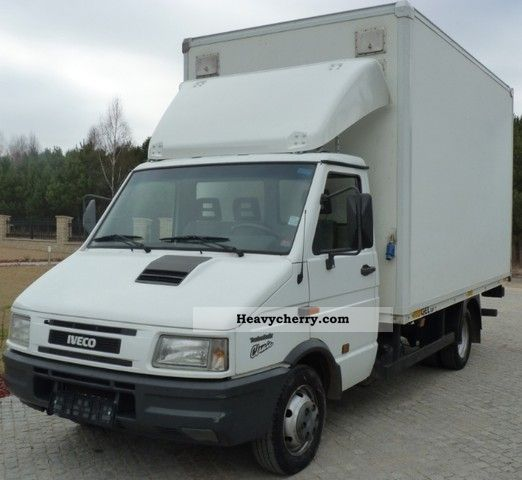 iveco 35 10 35 12 49 10 49 12 winda lift 1998 box truck photo and specs. Black Bedroom Furniture Sets. Home Design Ideas