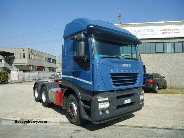 2003 Iveco  AS440S48 Semi-trailer truck Heavy load photo