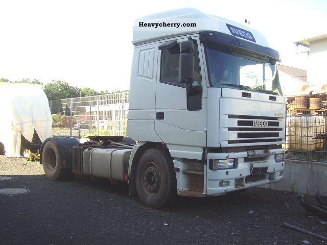 2002 Iveco  Euro Star 440 E 43 Semi-trailer truck Standard tractor/trailer unit photo