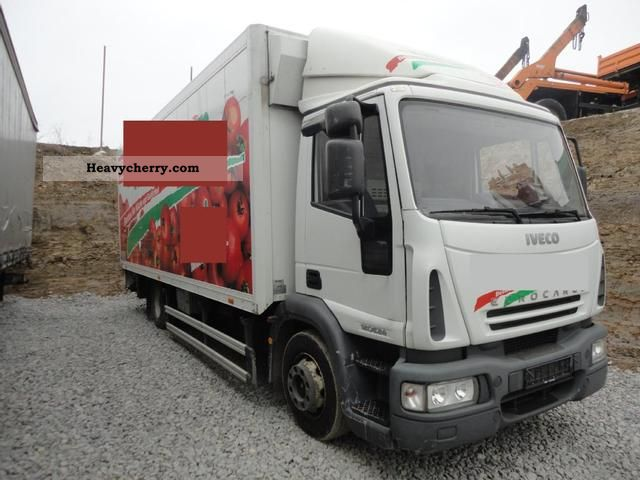 2005 Iveco  120 E 24 ML 40 FLÜSSIGSTI CKSTOFFKÜHLUNG -25 to Truck over 7.5t Refrigerator body photo