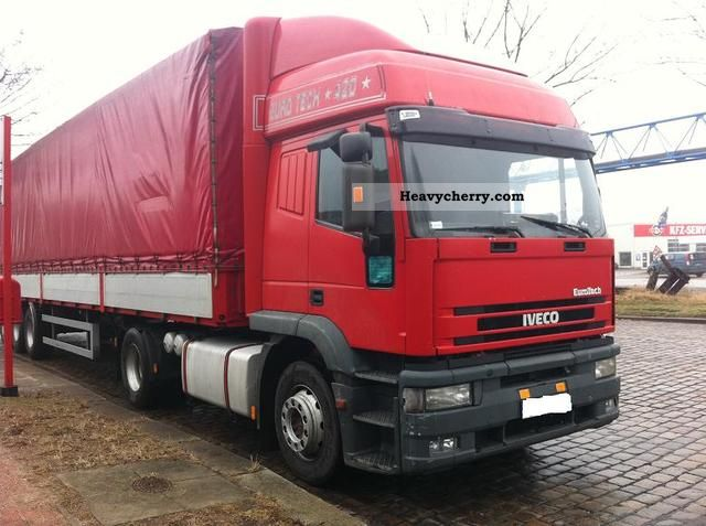 2000 Iveco  440E42.47.Eurotech.ZF gearbox manual Semi-trailer truck Standard tractor/trailer unit photo