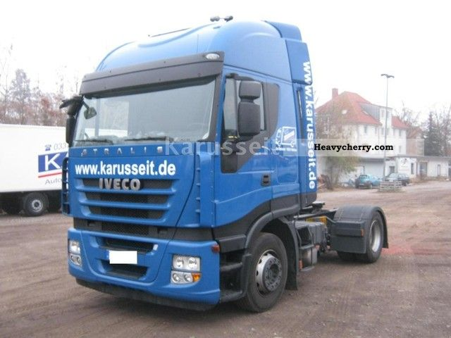 Tractor Trailer Units : Iveco as s t p standard tractor trailer unit
