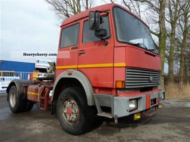 1983 Iveco  190.38 Semi-trailer truck Standard tractor/trailer unit photo
