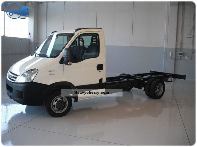iveco daily 35c15 passo 3750 2008 chassis truck photo and specs. Black Bedroom Furniture Sets. Home Design Ideas