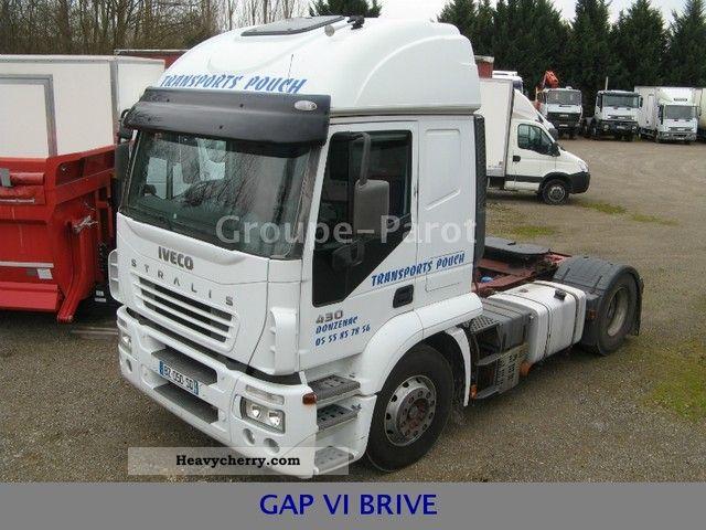 2005 Iveco  AT44S43TP Semi-trailer truck Standard tractor/trailer unit photo