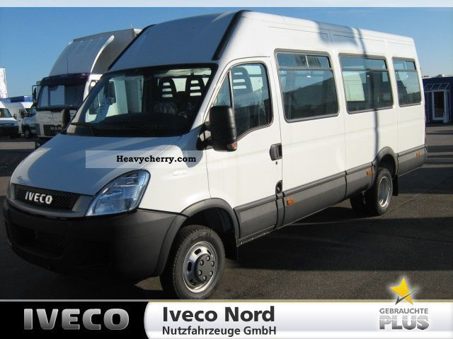 2011 Iveco  Daily 40C14 EEV, AIR, WEBASTO, new cars Van or truck up to 7.5t Box-type delivery van photo