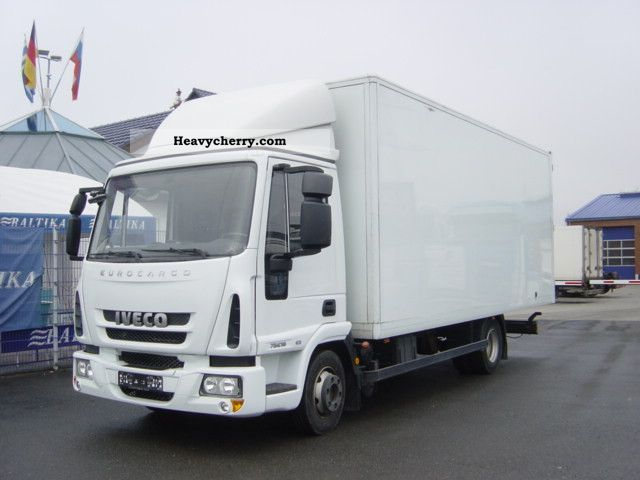 Iveco Euro Cargo 75E16 2009 Box Truck Photo and Specs