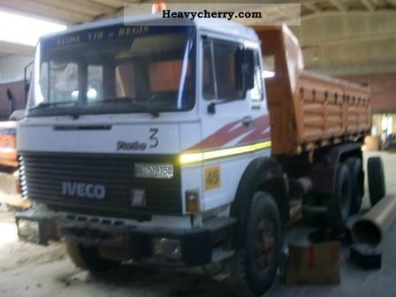 1981 Iveco  330.35 Truck over 7.5t Roll-off tipper photo