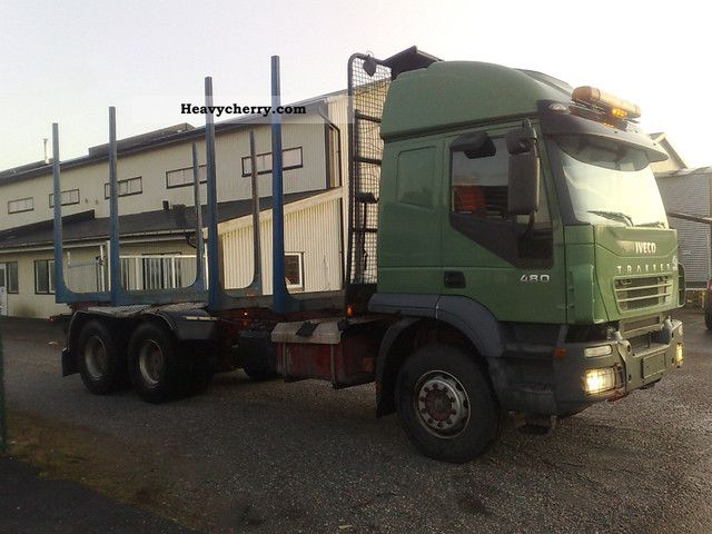 2005 Iveco  480 Truck over 7.5t Timber carrier photo