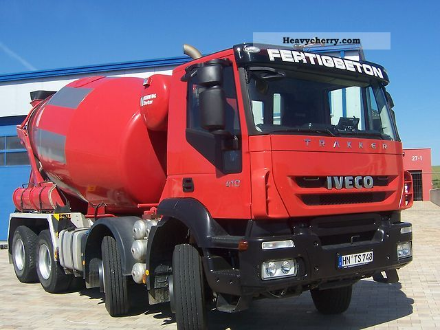 Iveco Ad340t41b Stetter 9 M 179 2008 Cement Mixer Truck Photo