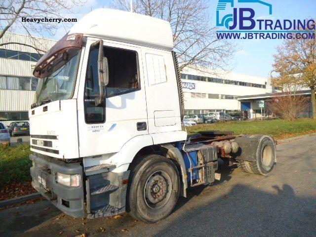 2000 Iveco  EuroTech 440E42 Semi-trailer truck Standard tractor/trailer unit photo