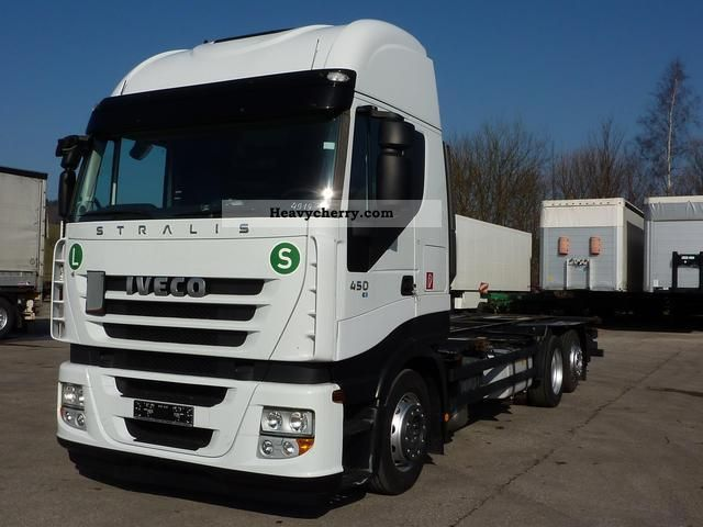 2008 Iveco  Stralis 450 AS Cube ³ € 5 speed BDF Truck over 7.5t Swap chassis photo